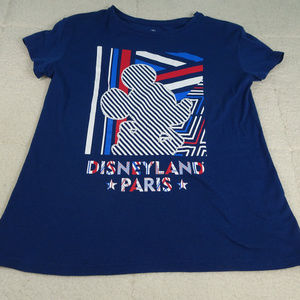 Disneyland Paris Blue Mickey Profile Medium